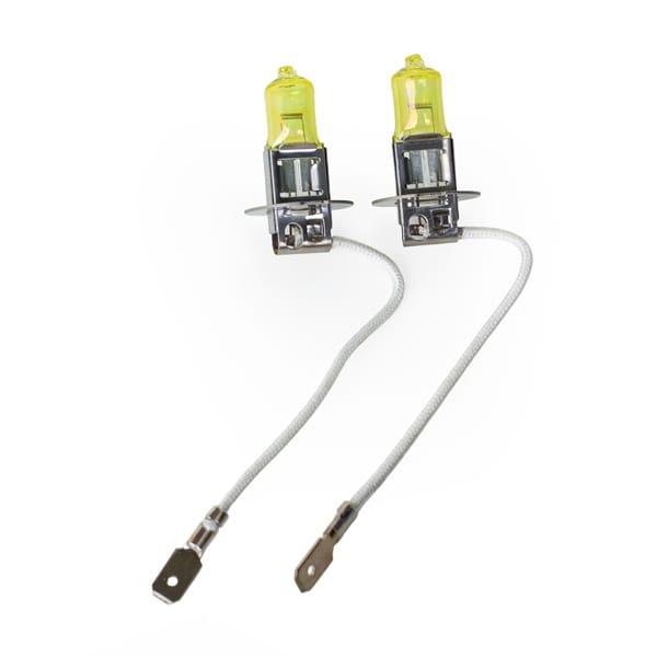 Keltaiset ajovalolamput H3