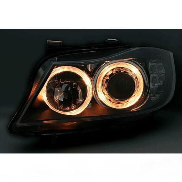 Ajovalot med Angeleyes LED blinkers